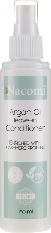 Kondicionér na vlasy - Nacomi No-Rinse With Moroccan Argan Oil Conditioner — Obrázky N1