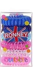 Voňavky, Parfémy, kozmetika Gumičky do vlasov - Ronney Professional Funny Ring Bubble 4