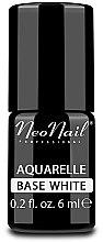 Voňavky, Parfémy, kozmetika Základ biely pre gél-lak - NeoNail Professional Aquarelle Base White