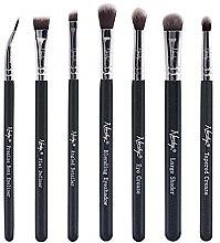 Voňavky, Parfémy, kozmetika Súprava štetcov - Nanshy Eye Brush Set Onyx Black (Brush/7ks)