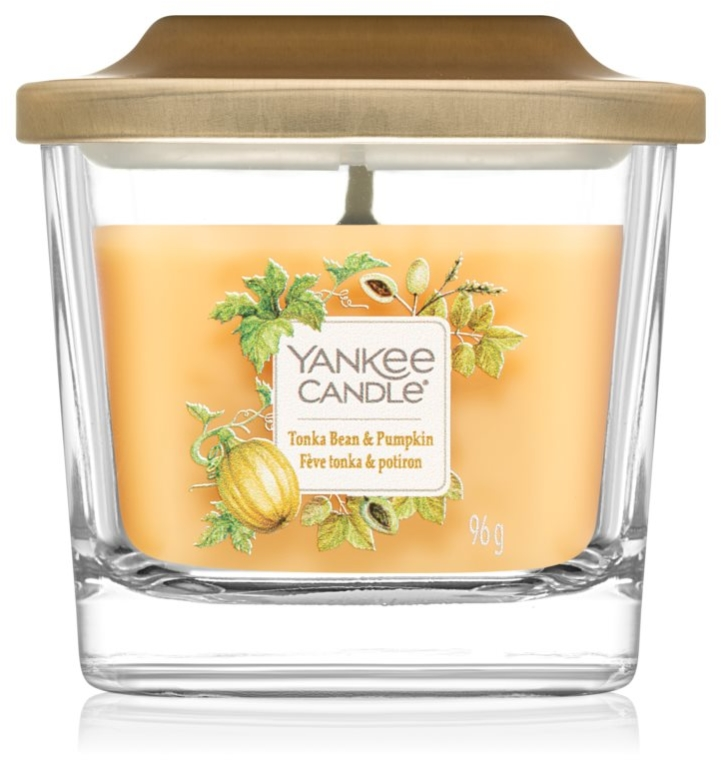 Vonná sviečka - Yankee Candle Elevation Tonka Bean & Pumpkin — Obrázky N1