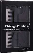 Voňavky, Parfémy, kozmetika Hrebeň na vlasy - Chicago Comb Co Giftbox Model No. 3 RVS + Hoesje