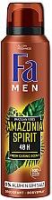 """Voňavky, Parfémy, kozmetika Dezodoračný sprej """"Rytmy Brazílie. Amazonia Spirit"""" - Fa Men"""