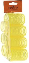 """Voňavky, Parfémy, kozmetika natáčky na vlasy na suchý zips """"Velcro"""" 35mm, 8ks, 0355 - Top Choice"""