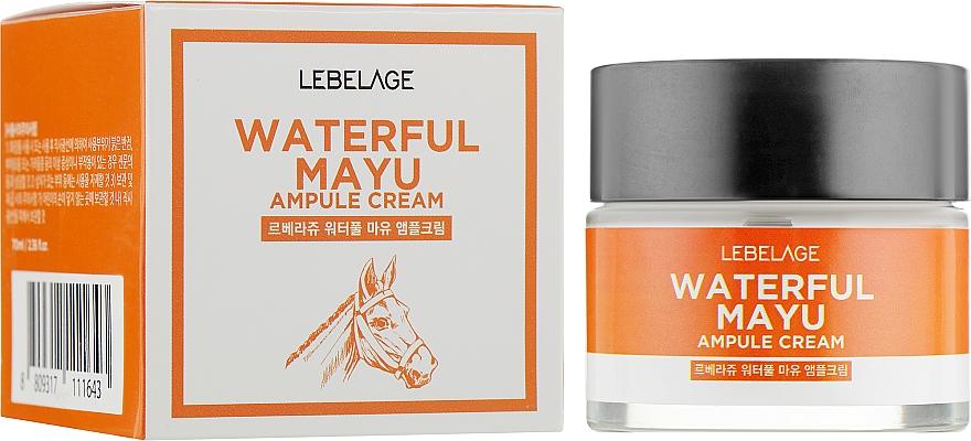 Pleťový krém z konského tuku - Lebelage Waterful Mayu Ampule Cream