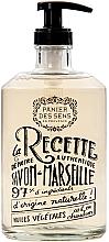 "Voňavky, Parfémy, kozmetika Marseillské tekuté mydlo ""Levanduľa"", sklenená fľaša - Panier des Sens Liquid Marseille Soap"