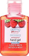 """Voňavky, Parfémy, kozmetika Antibakteriálny gél na hygienu rúk """"Jahoda"""" - Dermo Pharma Antibacterial Hand Gel"""