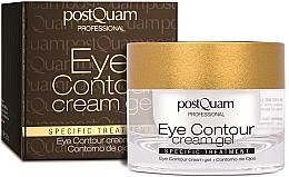 Voňavky, Parfémy, kozmetika Kontúrový krémový gél na pokožku okolo očí - PostQuam Eye Contour Cream Gel