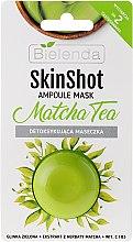 "Voňavky, Parfémy, kozmetika Maska detox ""Čaj-mäta"" - Bielenda Skin Shot Matcha Tea"