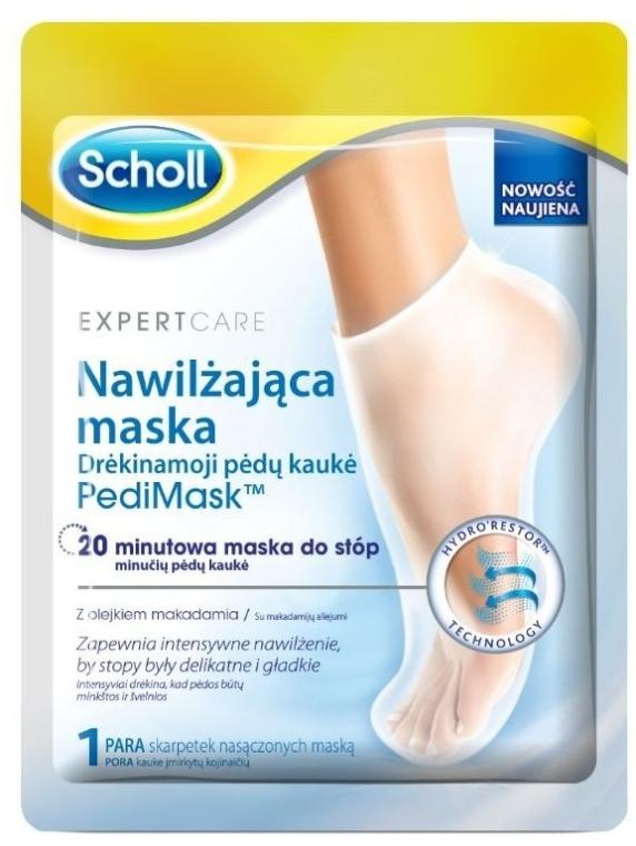 Maska na nohy - Scholl Expert Care Foot Mask — Obrázky N1