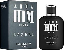 Voňavky, Parfémy, kozmetika Lazell Aqua Him Black - Toaletná voda