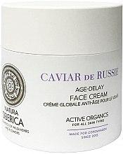 """Voňavky, Parfémy, kozmetika Krém na tvár """"Predĺženie mladosti"""" - Natura Siberica Copenhagen Caviar de Russie Age Delay Face Cream"""