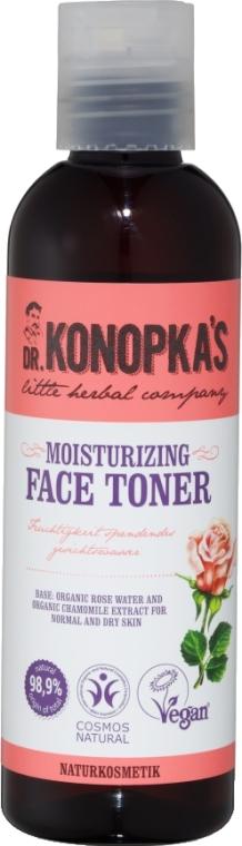 Hydratačné tonikum na tvár - Dr. Konopka's Face Moisturizing Toner