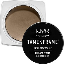 Voňavky, Parfémy, kozmetika Pomáda na obočie - NYX Professional Makeup Tame & Frame Brow Pomade