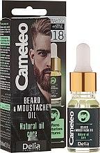 Voňavky, Parfémy, kozmetika Olej pre bradu - Delia Cameleo Men Beard and Moustache Oil