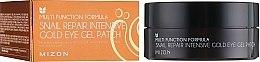 Voňavky, Parfémy, kozmetika Šampón-kondicionér pre zdravú pokožku hlavy - Mizon Snail Repair Intensive Gold Eye Gel Patch