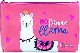 Voňavky, Parfémy, kozmetika Kozmetická taška s potlačou, ružová - IDC Design Accessories Cosmetig Bag