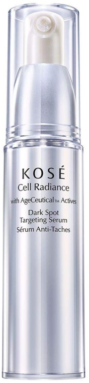 Rozjasňujúce sérum na tvár - KOSE Age Ceutical Actives Cell Radiance Dark Spot Targeting Serum — Obrázky N1