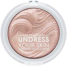 Voňavky, Parfémy, kozmetika Rozjasňovač na tvár - MUA Makeup Academy Shimmer Highlighter Powder
