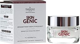 Voňavky, Parfémy, kozmetika Genoaktivny stimulujúce krém na noc - Farmona Professional Skin Genic