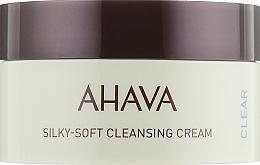 Voňavky, Parfémy, kozmetika Jemný čistiaci krém na tvár - Ahava Time to Clear Ahava Silky Soft Cleansing Cream