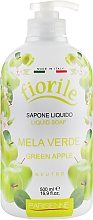 "Voňavky, Parfémy, kozmetika Tekuté mydlo ""Zelené jablko"" - Parisienne Italia Fiorile Green Apple Liquid Soap"