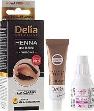Voňavky, Parfémy, kozmetika Krém-farba na obočie - Delia Cosmetics Cream Eyebrow Dye