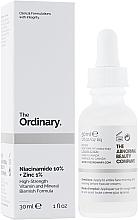 Voňavky, Parfémy, kozmetika Sérum na tvár s niacínamidom a zinkom - The Ordinary Niacinamide 10% + Zinc PCA 1%