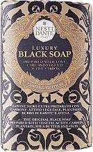 """Voňavky, Parfémy, kozmetika Mydlo """"Luxusná čierna"""" - Nesti Dante Luxury Black Soap"""