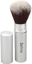 Voňavky, Parfémy, kozmetika Štetec na make-up - Sefiros Silver Retractable Brush