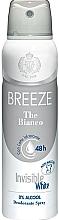 Voňavky, Parfémy, kozmetika Breeze Deo Spray The Bianco - Dezodorant na telo