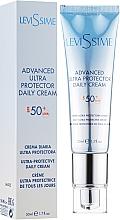 Voňavky, Parfémy, kozmetika Opaľovací krém na tvár SPF50 - LeviSsime Advanced Ultra Protector Daily Cream SPF50