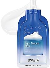 Voňavky, Parfémy, kozmetika Nočná hydratačná maska na tvár s aromatickými olejmi - Beausta Aqua Sleeping Mask