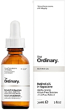 Voňavky, Parfémy, kozmetika Sérum s 1% retinolom v skvaláne - The Ordinary Retinol 1% in Squalane