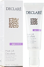Voňavky, Parfémy, kozmetika Remodelačný krém na krk a dekolt - Declare Age Control Multi Lift Decollete Re-Modeling Neck