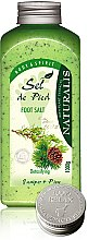 Voňavky, Parfémy, kozmetika Soľný kúpeľ na nohy - Naturalis Sel de Pied Juniper And Pine Foot Salt