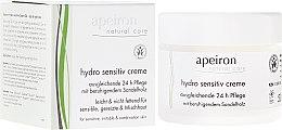 Voňavky, Parfémy, kozmetika Hydratačný krém pre citlivú pleť - Apeiron Hydro Sensitiv Cream 24h