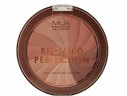 Voňavky, Parfémy, kozmetika Brozujúci púder - MUA Bronzed Perfection Multi Bronzing Powder