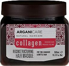 Voňavky, Parfémy, kozmetika Kolagénová maska na vlasy - Arganicare Collagen Reconstructuring Hair Masque
