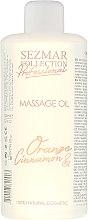 """Voňavky, Parfémy, kozmetika Masážny olej """"Pomaranč a škorica"""" - Sezmar Collection Professional Body Mask Orange Cinnamon"""