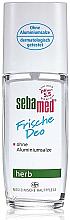 Voňavky, Parfémy, kozmetika Dezodorant - Sebamed Frische Deo Herb Deodorant Spray