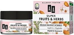 """Voňavky, Parfémy, kozmetika Balzam vo sviečke """"Mandle a rozmarín"""" - AA Super Fruits & Herbs"""