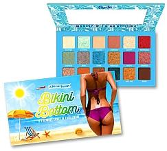 Voňavky, Parfémy, kozmetika Paleta očných tieňov - Rude Bikini Bottom Eyeshadow Palette