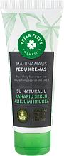 Voňavky, Parfémy, kozmetika Výživný krém na chodidlá s prírodným konopným olejom a močovinou - Green Feel's Nourishing Food Cream