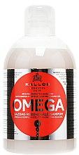 Voňavky, Parfémy, kozmetika Regeneračný šampón s komplexom omega-6 a makadamovým olejom - Kallos Cosmetics Omega Hair Shampoo