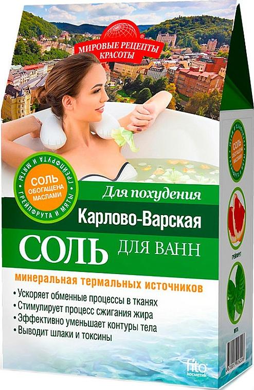 """Soľ na chudnutie """"Karlovarská"""" - Fito Kosmetik"""
