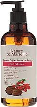 Voňavky, Parfémy, kozmetika Gél na ručné umývanie s vôňou bobúľ goji a bambuckého masla - Nature de Marseille Goji&Shea Butter Gel