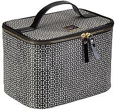 Voňavky, Parfémy, kozmetika Kozmetická taška - Auri Simple Black & White Makeup Case