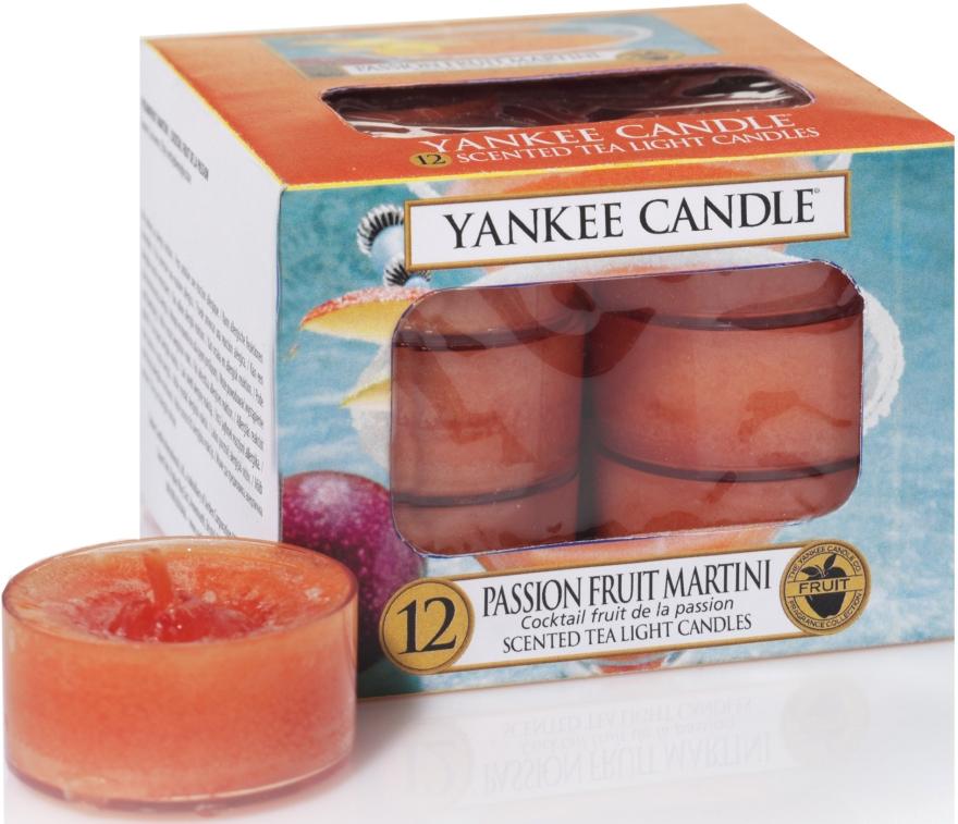 Čajové sviečky - Yankee Candle Scented Tea Light Candles Passion Fruit Martini — Obrázky N1