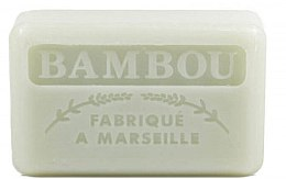 "Voňavky, Parfémy, kozmetika Marseillské mydlo ""Bambus"" - Foufour Savonnette Marseillaise Bambou"